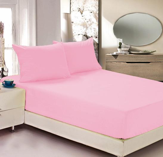 Простыня на резинке Легкие сны Color Way, трикотаж, цвет: розовый, 160 x 200 смЛСПР-160/10Простыня Легкие сны Color Way выполнена из трикотажа. Высочайшее качество материала гарантирует безопасность не только взрослых, но и самых маленьких членов семьи. Изделие прошито резинкой по всему периметру, что обеспечивает более комфортный отдых, так как оно прочно удерживается на матрасе и избавляет от необходимости часто поправлять простыню. Простыня гармонично впишется в интерьер вашей спальни и создаст атмосферу уюта и комфорта. Рекомендации по уходу: Деликатная стирка при температуре воды до 30°С. Отбеливание, химчистка запрещены. Рекомендуется глажка при температуре подошвы утюга до 150°С. Разрешена барабанная сушка.