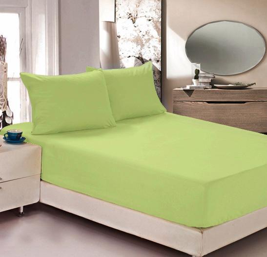 Простыня на резинке Легкие сны Color Way, трикотаж, цвет: салатовый, 120 x 200 смЛСПР-120/5Простыня Легкие сны Color Way выполнена из трикотажа. Высочайшее качество материала гарантирует безопасность не только взрослых, но и самых маленьких членов семьи. Изделие прошито резинкой по всему периметру, что обеспечивает более комфортный отдых, так как оно прочно удерживается на матрасе и избавляет от необходимости часто поправлять простыню. Простыня гармонично впишется в интерьер вашей спальни и создаст атмосферу уюта и комфорта. Рекомендации по уходу: Деликатная стирка при температуре воды до 30°С. Отбеливание, химчистка запрещены. Рекомендуется глажка при температуре подошвы утюга до 150°С. Разрешена барабанная сушка.