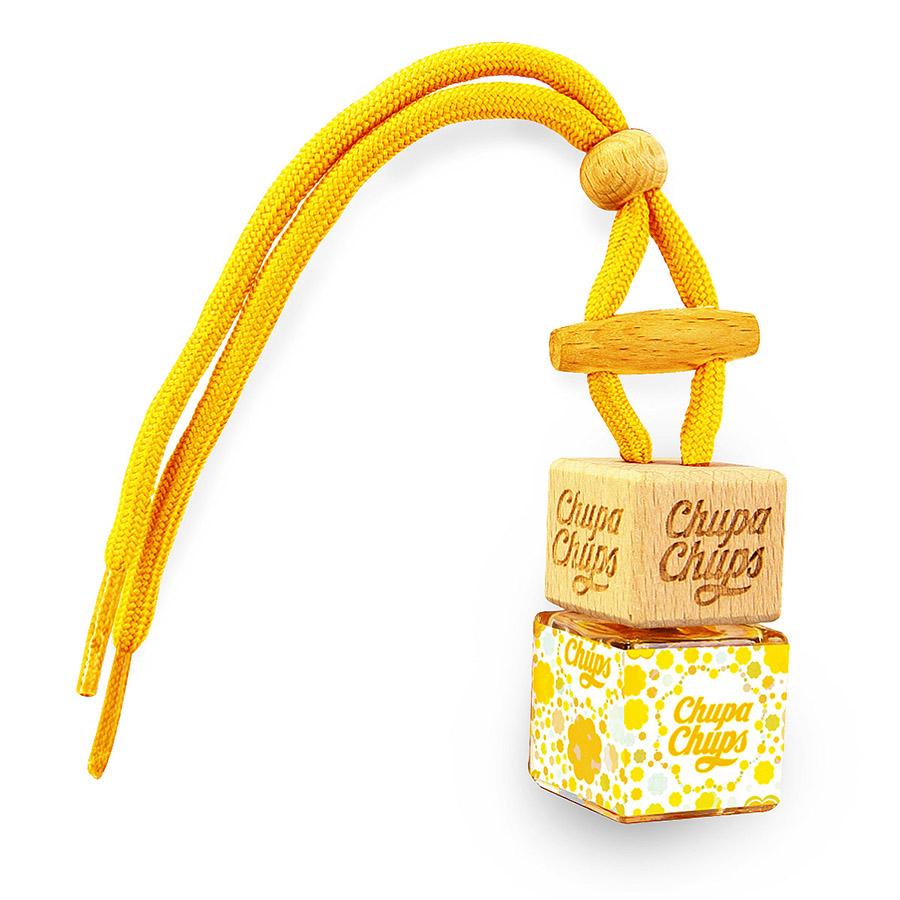 Ароматизатор воздуха Chupa Chups Лайм-Лимон, подвесной, флакон, 5 млCHP102Ароматизатор в виде стеклянного флакончика. Аромат лимон-лайм. Объем 5 мл. Срок действия 45 дней.