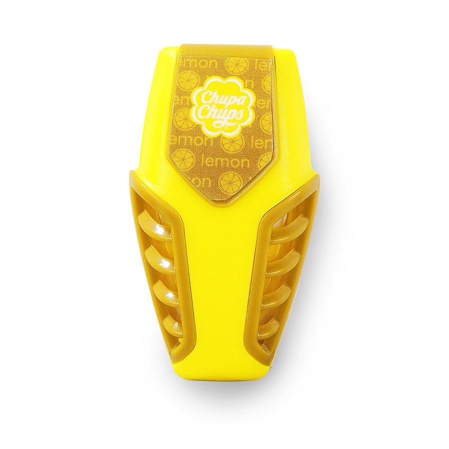 Ароматизатор воздуха Chupa Chups Лайм-лимон, на дефлектор, мембранный, гелевый, 3 млCHP301Гелевый мембранный ароматизатор Chupa Chups на дефлектор автомобиля. Аромат лимона и лайма. Объем ароматизатора 3 мл. Срок действия 45 дней.