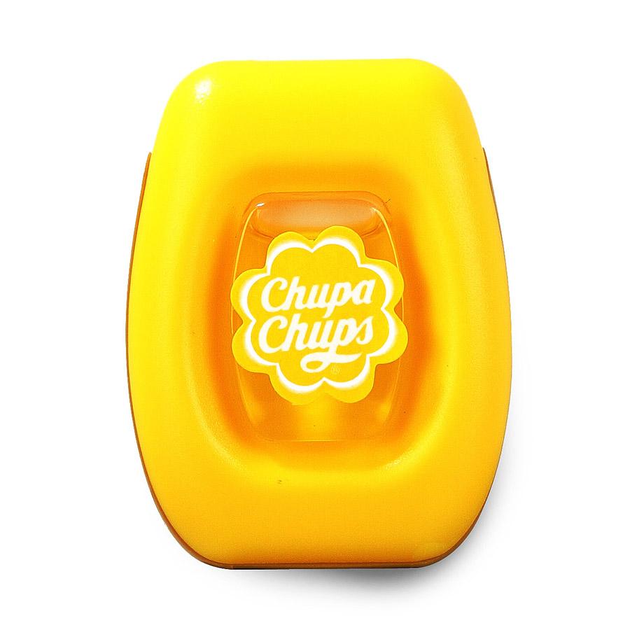 Ароматизатор воздуха Chupa Chups Лайм-лимон, на дефлектор, мембранный, 5 млCHP401Мембранный ароматизатор Chupa Chups на дефлектор автомобиля. Аромат лимона и лайма. Объем ароматизатора 5 мл. Срок действия 45 дней.