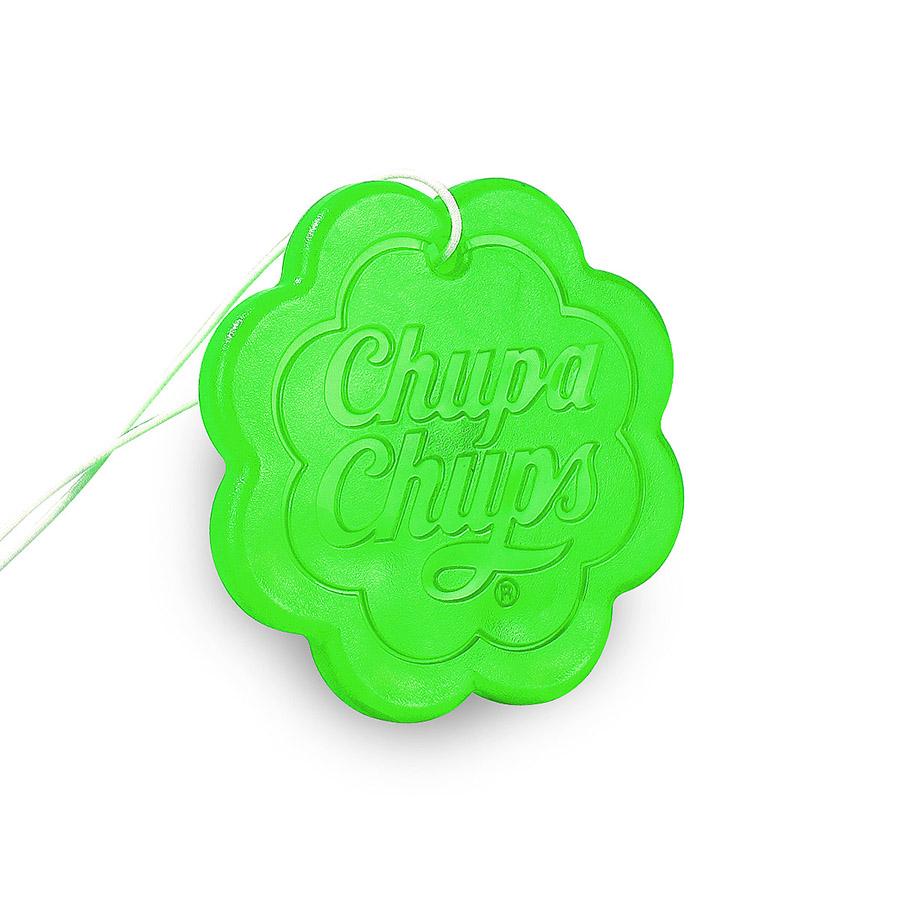 Ароматизатор воздуха Chupa Chups Яблоко, подвесной, гелевый, 18 гCHP501Подвесной гелевый ароматизатор в виде логотипа Chupa Chups. Аромат яблока. Срок службы 45 дней, 18г.