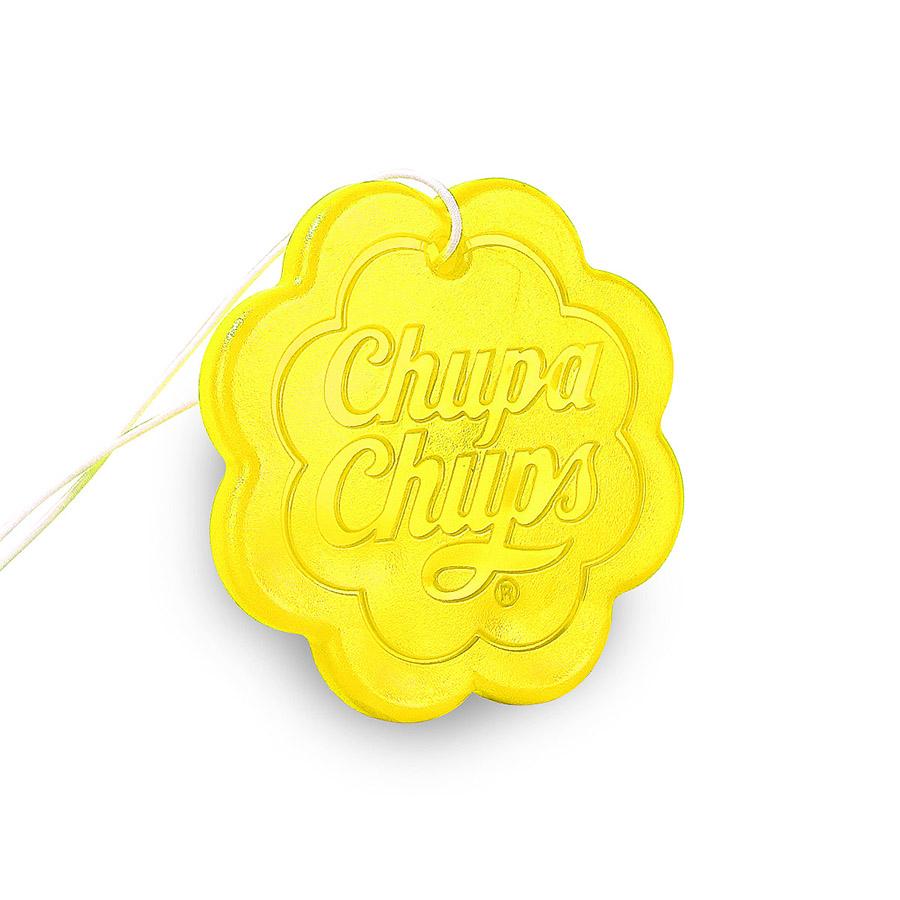 Ароматизатор воздуха Chupa Chups Лайм-лимон, подвесной, гелевый, 18 гCHP502Подвесной гелевый ароматизатор выполнен в виде логотипа Chupa Chups с ароматом лимона и лайма. Легко размещается в салоне автомобиля, а оригинальный необычный дизайн ароматизатора еще и украшает салон. Срок службы 45 дней.