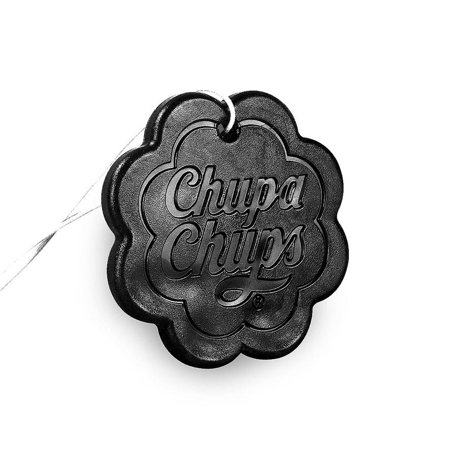 Ароматизатор воздуха Chupa Chups Кола, подвесной, гелевый, 18 гCHP503Подвесной гелевый ароматизатор в виде логотипа Chupa Chups. Аромат колы. Срок службы 45 дней, 18г.