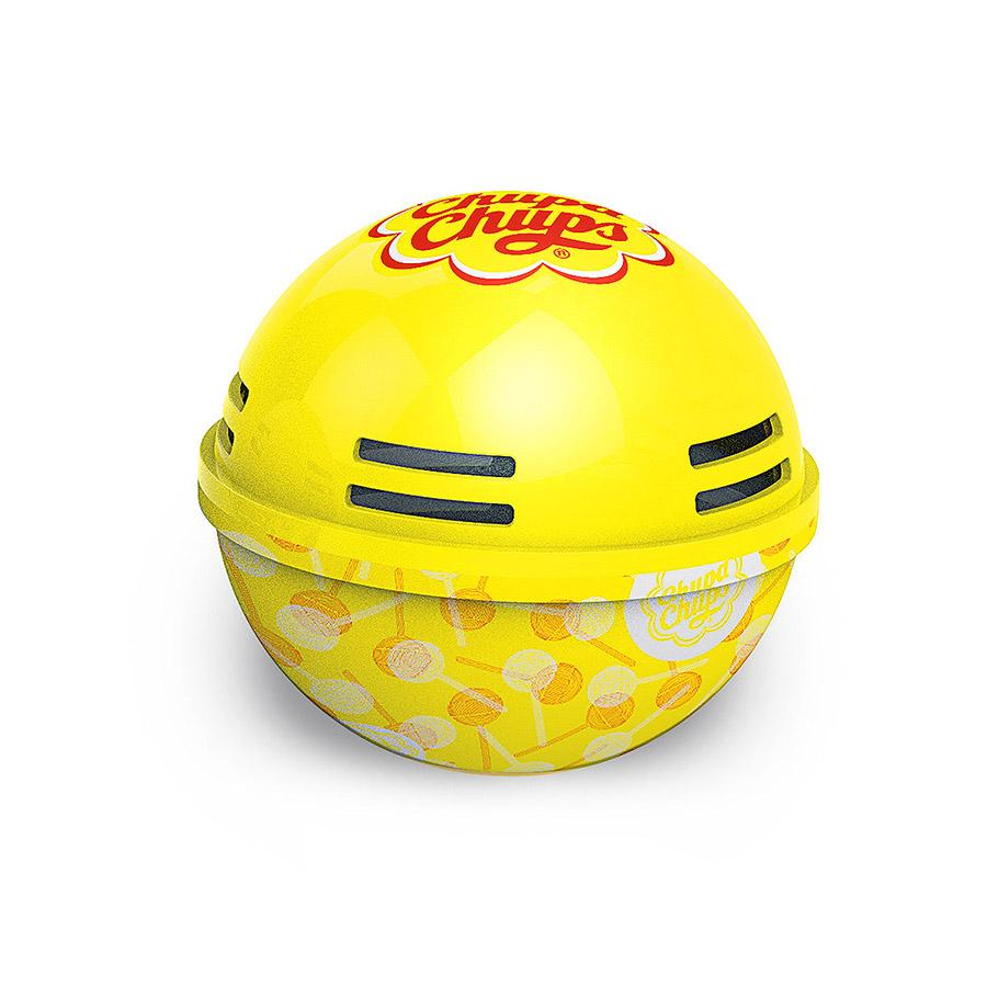 Ароматизатор воздуха Chupa Chups Лимон, на панель приборов, гелевый, 100 млCHP606Круглые гелевые ароматизаторы на панель приборов в виде огромных леденцов Chupa Chups. Аромат лимона. Срок службы 45 дней, 100мл.