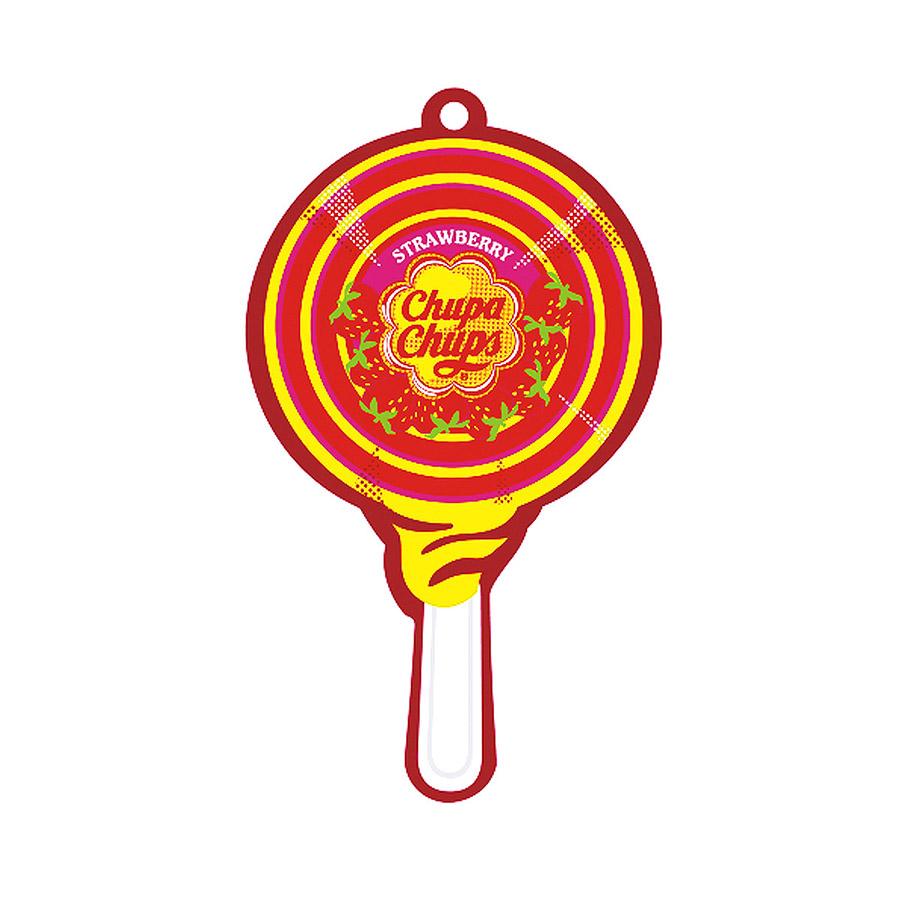 Ароматизатор воздуха Chupa Chups Клубника со сливками, подвесной, двойная пропиткаCHP700Бумажные ароматизаторы Chupa Chups с двойной пропиткой. Аромат клубники со сливками. Срок службы 45 дней.