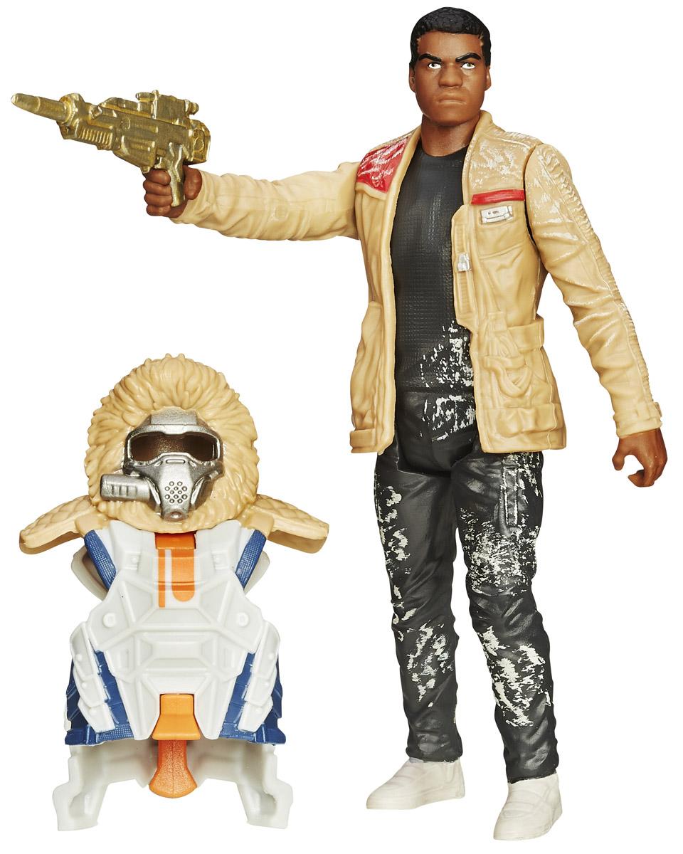 Star Wars Набор фигурок Finn Starkiller BaseB3886_B3887Набор фигурок Star Wars Kylo Ren состоит из фигурки Финна, штурмовика Первого ордена с позывным FN-2187, присоединившегося к Сопротивлению в их борьбе против Первого ордена, его боевого костюма и оружия. Конечности фигурки подвижны, голова поворачивается, оружие снимается. Эта фигурка непременно понравится поклоннику Звездных войн и станет замечательным украшением любой коллекции.