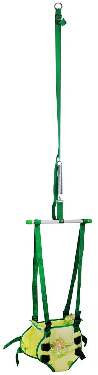 Фея Тренажер-прыгунки 2 в 1 цвет зеленый