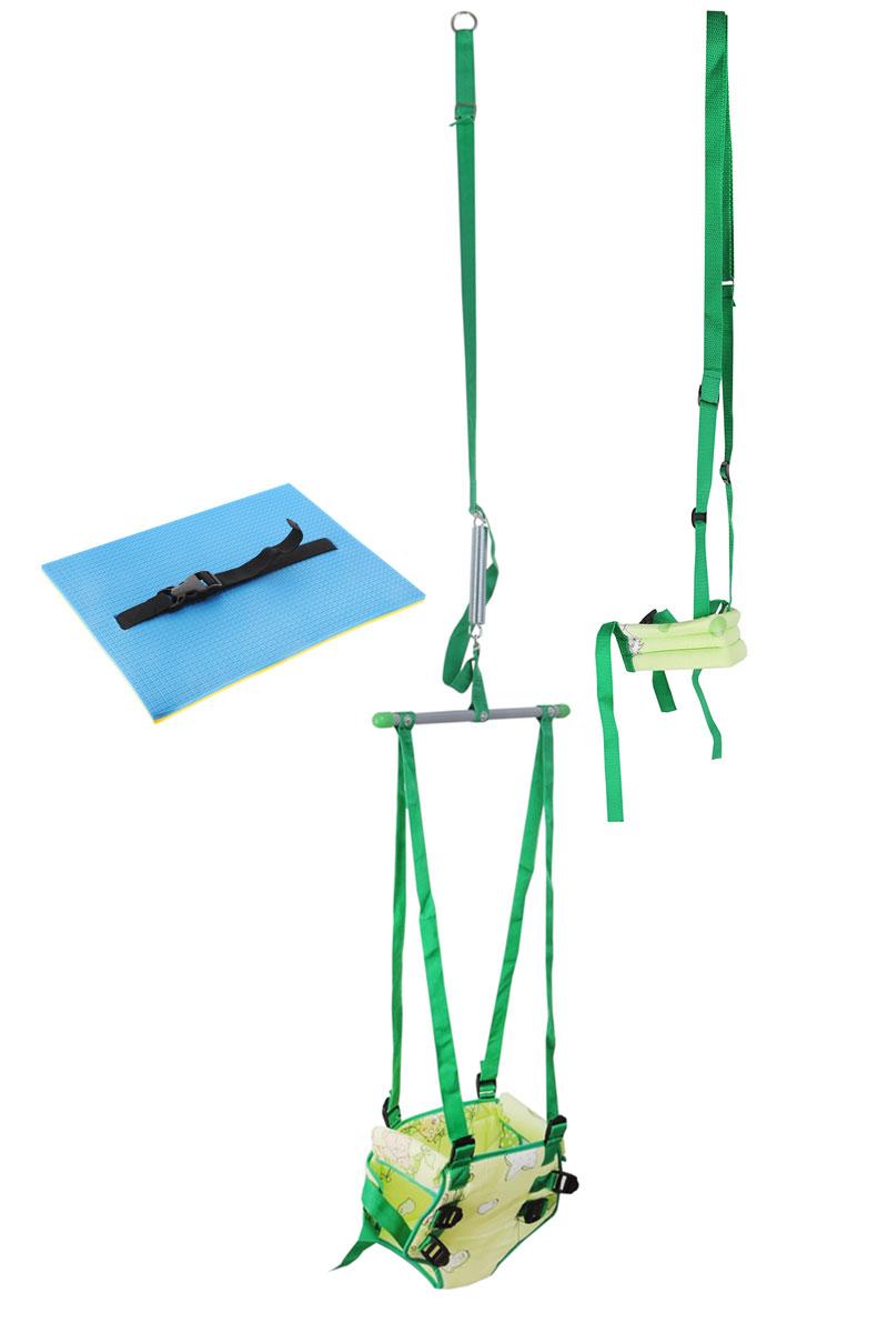 Фея Тренажер-прыгунки 4 в 1 цвет салатовый