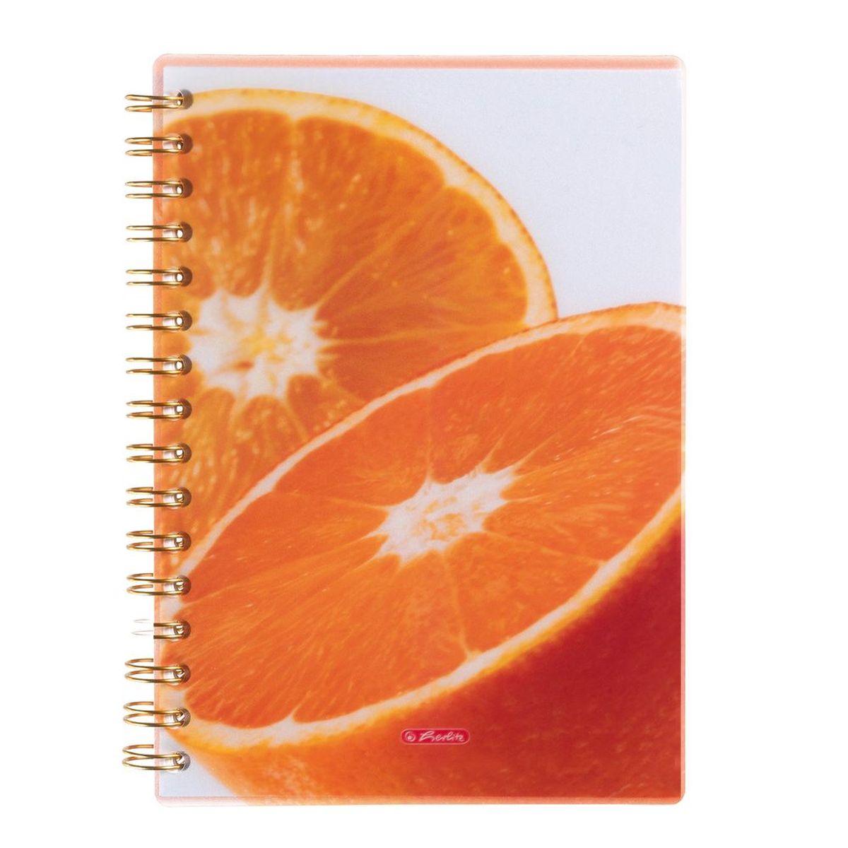 Herlitz Тетрадь Апельсин 100 листов в клетку формат А5 10927341