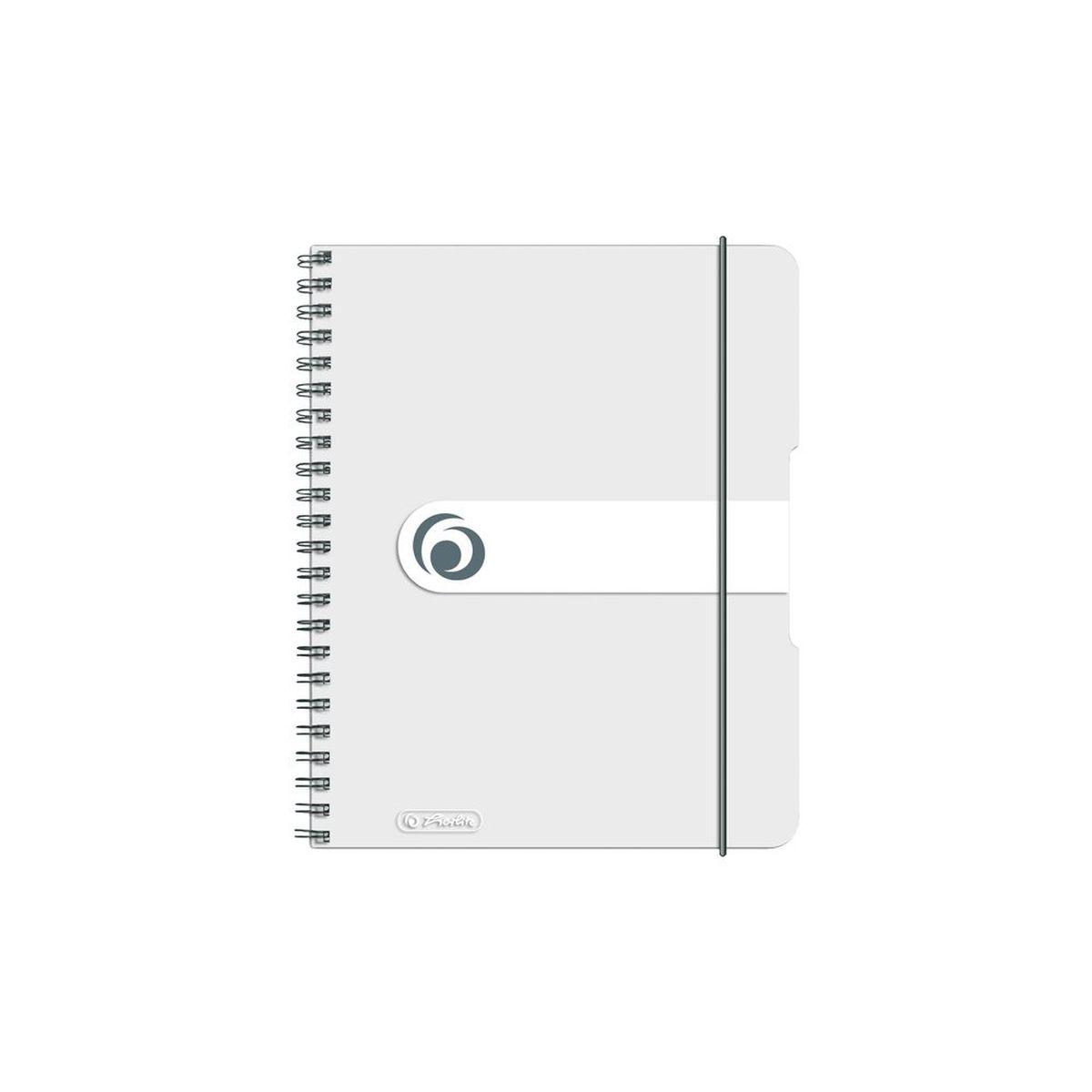 Herlitz Блокнот Easy Orga To Go 100 листов в клетку формат А6 цвет прозрачный11294444Удобный блокнот Herlitz Easy Orga To Go - незаменимый атрибут современного человека, предназначенный для важных записей. Блокнот содержит 100 листов формата А6 в клетку без полей. Обложка выполнена из качественного полипропилена. Спираль изготовлена из металла, что гарантирует полное отсутствие потери листов. Блокнот имеет закругленные углы. Блокнот для записей Herlitz Easy Orga To Go станет достойным аксессуаром среди ваших канцелярских принадлежностей. Это отличный подарок как коллеге или деловому партнеру, так и близким людям.