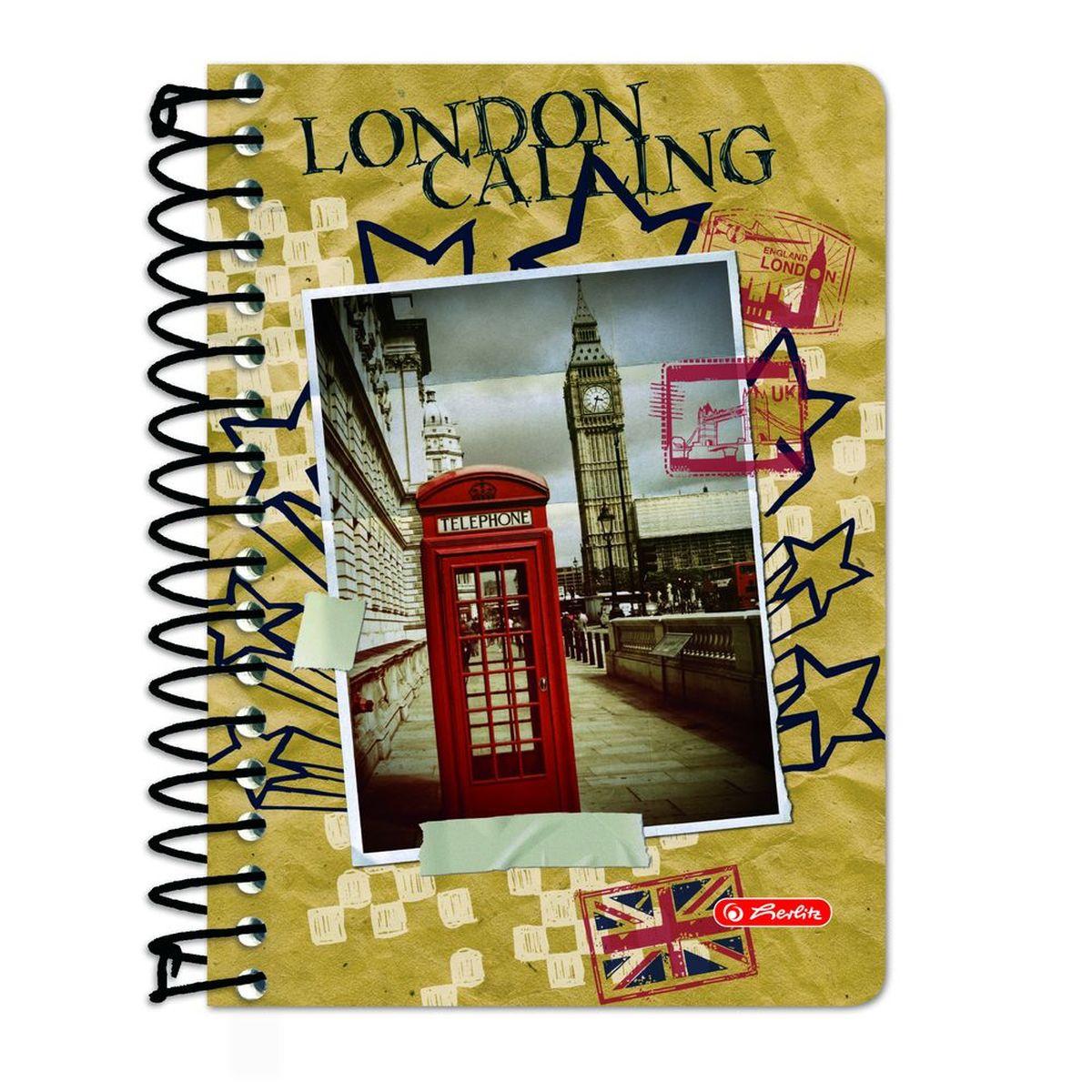Herlitz Блокнот City Trips London 200 листов в клетку 11301173