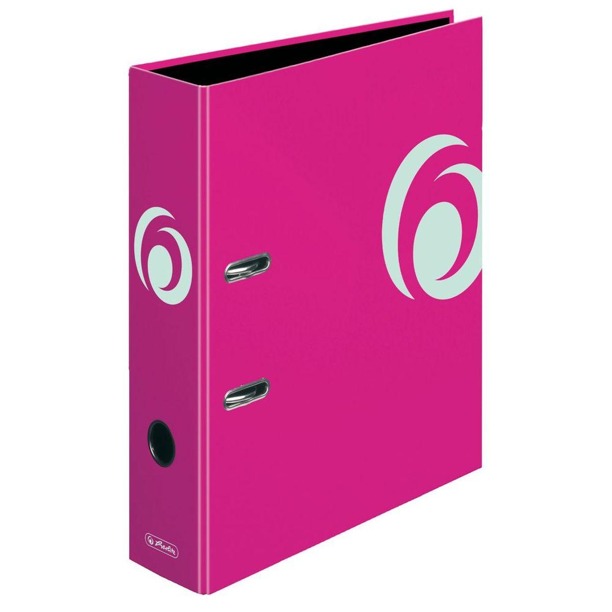 Herlitz Папка-регистратор MaX.file цвет розовый11364320Практичная папка-регистратор Herlitz maX.file предназначена для хранения больших объемов документов. Ее обложка выполнена из ламинированного картона, с отделкой выборочным лаком. Папка оснащена прочным арочным механизмом улучшенного высокого качества с увеличенной прижимной силой. Основа папки изготовлена из прочного FSC-сертифицированного картона. Папка-регистратор значительно облегчает делопроизводство. Яркий розовый дизайн позволит ей стать достойным аксессуаром среди ваших канцелярских принадлежностей.