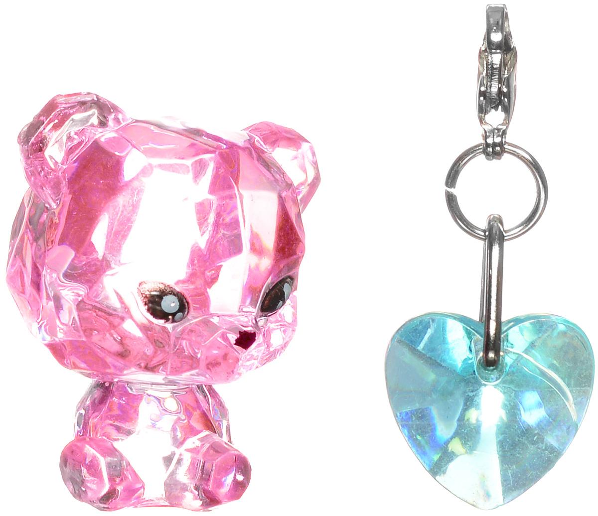 Crystal Surprise Фигурка Панда Twinkles цвет розовый45706_розовыйСамые искристые, самые сияющие малютки-зверюшки собрались здесь, чтобы принести вам удачу! Когда на небе встает солнце вдогонку тающей луне, появляются зверьки Crystal Surprise. Возьмите их в руку - и почувствуете, как они приносят удачу. У каждого зверька Crystal Surprise есть свое предназначение, каждый из них станет вашим талисманом. Носите, дарите их. Соберите их всех, чтобы умножить их магические способности! Предназначение фигурки Crystal Surprise Панда Twinkles - мир. Благодаря этой панде вокруг вас всегда будет мир, а вы будете повсюду нести за собой веселье. Девиз талисмана: Я мир приношу, я от счастья сияю, и радостным светом ваш путь озаряю! В набор также входит подвеска на удачу!