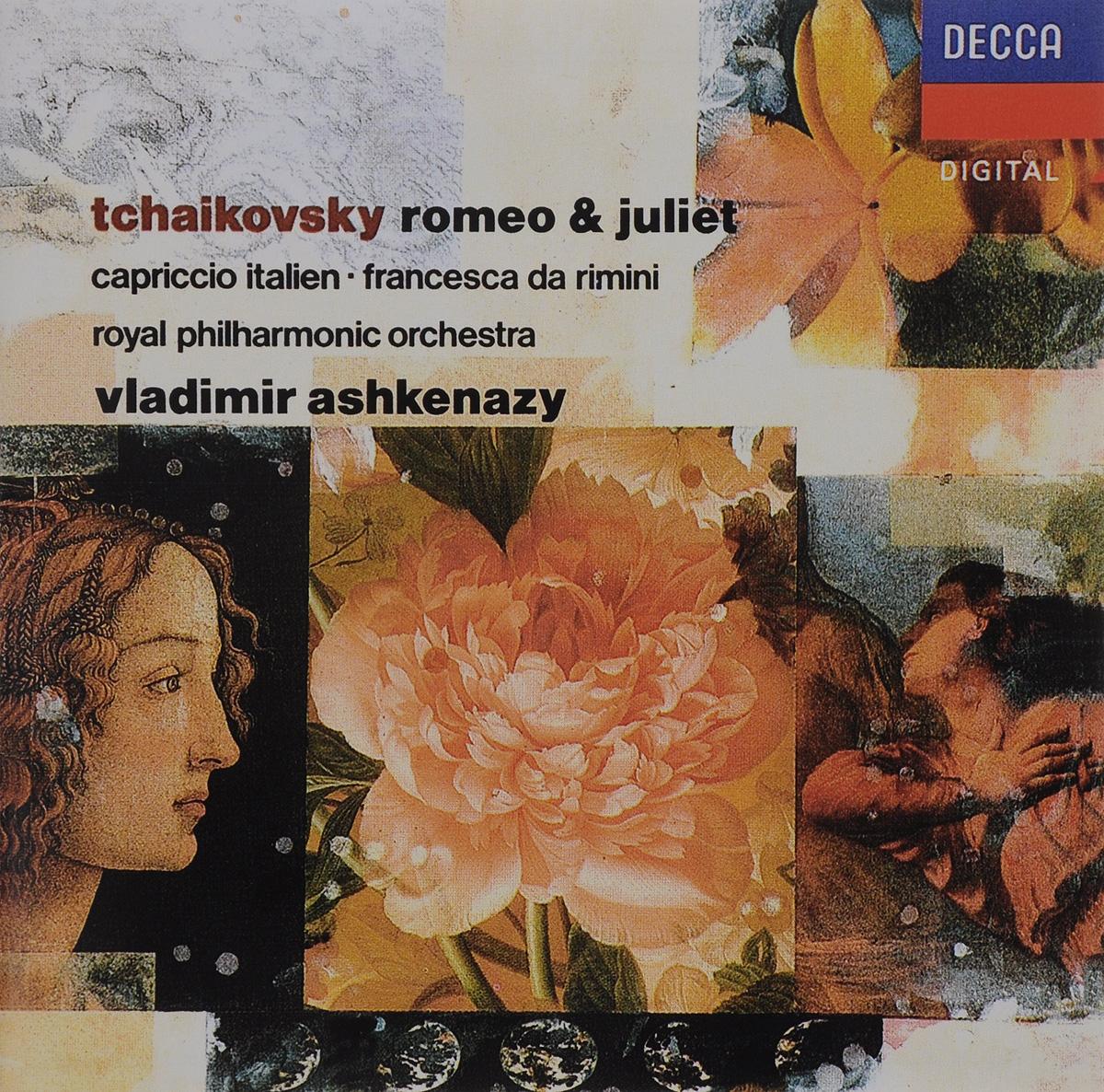 Vladimir Ashkenazy. Tchaikovsky. Romeo & Juliet / Capriccio Italien / Francesca Da Rimini / Elegie For Strings