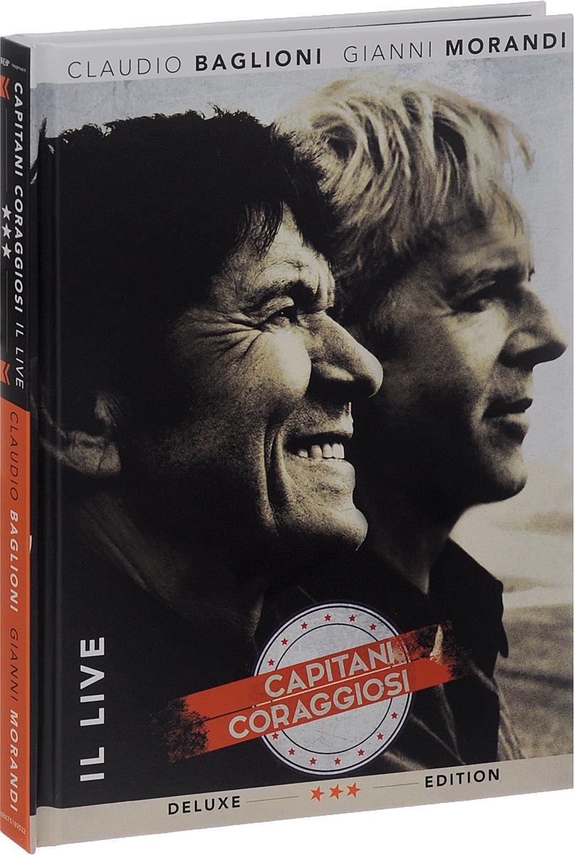 Claudio Baglioni, Gianni Morandi. Capitani Coraggiosi. Il Live. Deluxe Edition (3 CD + DVD)