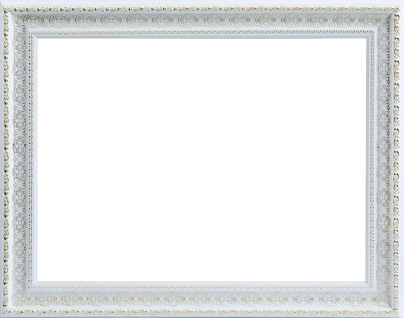 Багетная рама Белоснежка Alice , 30 см х 40 см, цвет: серебряный. 1091-BL1091-BL