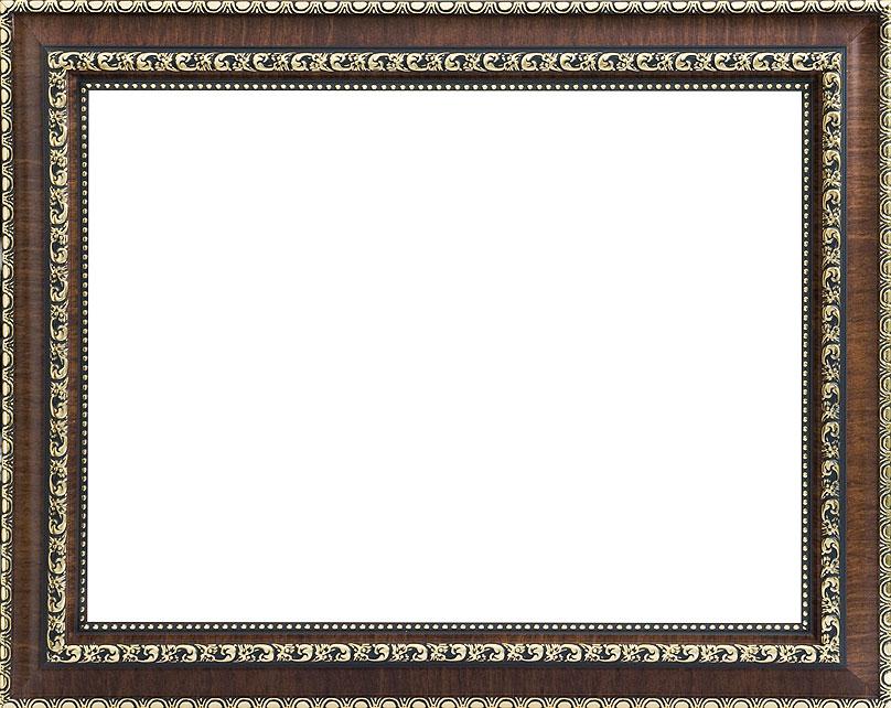 Багетная рама Белоснежка Donna , 40 см х 50 см, цвет: темно-коричневый. 2203-BB2203-BB
