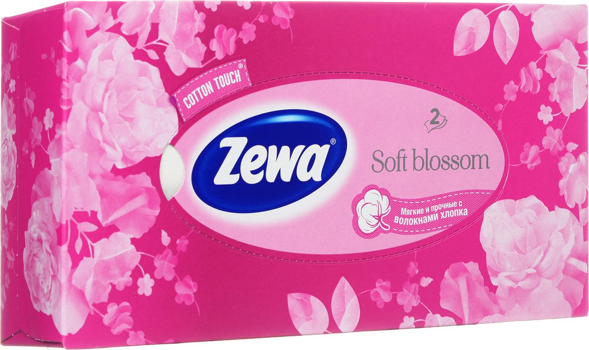 Zewa Платки косметические в коробке Everyday Розы, двухслойные 100 шт, цвет: розовый140814757_розовый, розы