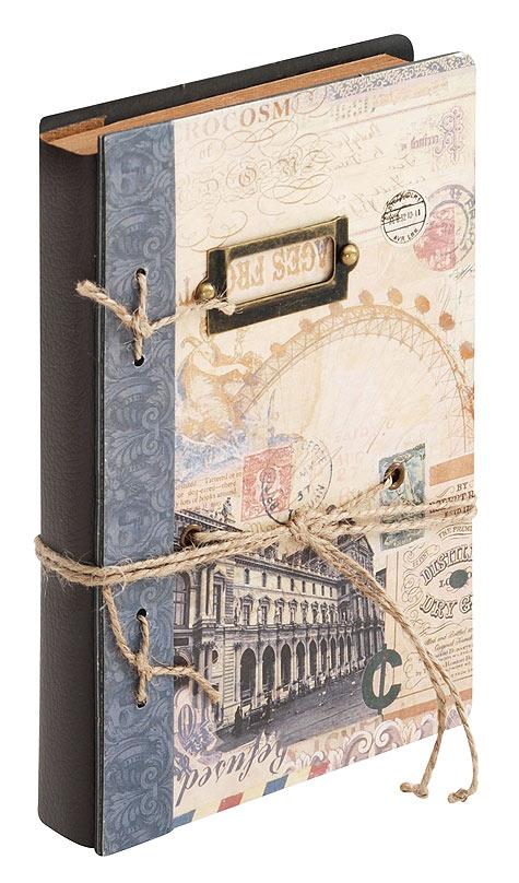 Блокнот для записей Белоснежка Секреты. 681-SB681-SBДневник для записей в стиле Винтаж имеет плотную обложку с объемной композицией. Удобная завязка помогает держать дневник закрытым и придает ему дополнительный шарм. Завязку можно использовать в качестве закладки. Компактный размер дневника позволяет носить его с собой в сумочке. Листы изготовлены из плотной крафт бумаги с винтажными картинками. Количество листов: 96 Размер 115 х 172 х 25 мм.