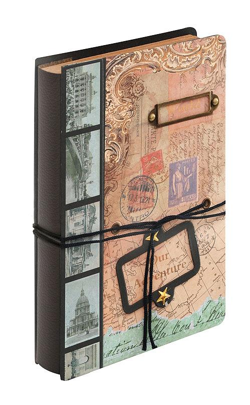 Блокнот для записей Белоснежка Загадка. 684-SB684-SBДневник для записей в стиле Винтаж имеет плотную обложку с объемной композицией. Удобная завязка помогает держать дневник закрытым и придает ему дополнительный шарм. Завязку можно использовать в качестве закладки. Компактный размер дневника позволяет носить его с собой в сумочке. Листы изготовлены из плотной крафт бумаги с винтажными картинками. Количество листов: 96 Размер 115 х 172 х 25 мм.