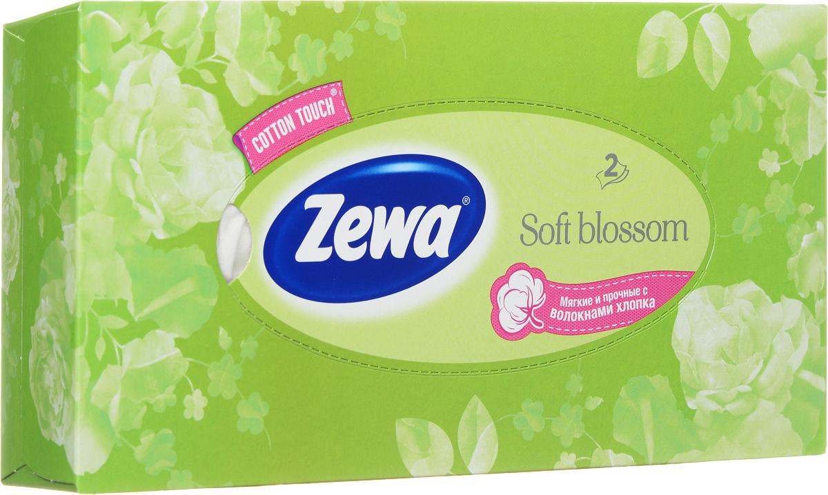 Zewa Платки косметические в коробке Everyday