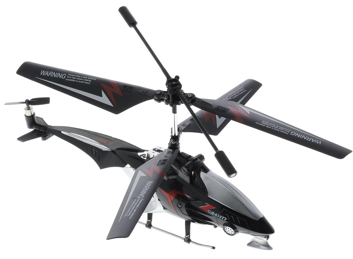 Auldey Вертолет на инфракрасном управлении Gravity-ZYW858231Вертолет на инфракрасном управлении Auldey Gravity-Z c трехканальным управлением и встроенным гироскопом отлично подходит для полетов в закрытых помещениях и на улице в безветренную погоду. Гироскоп предназначен для курсовой стабилизации полета. Игрушка выполнена из прочного пластика с металлическими элементами и имеет два основных винта и один хвостовой. Вертолет стабилен в воздухе и легко управляется. Данная модель идеальна в полете, хорошо и верно поддается командам с пульта управления. Имеет малый вес, в тоже время прочную конструкцию. Эта увлекательная игрушка понравится не только детям, но и взрослым, и подарит вам множество счастливых мгновений. Вертолет работает от встроенного аккумулятора, который можно заряжать от USB-шнура (входит в комплект). Для работы пульта управления необходимо купить 4 батарейки типа АAА (в комплект не входят).