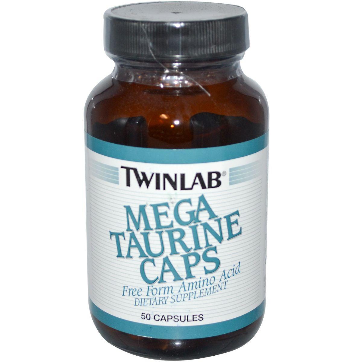 Таурин Twinlab Me гa Taurine, 50 капсул ( 0027434001984 )