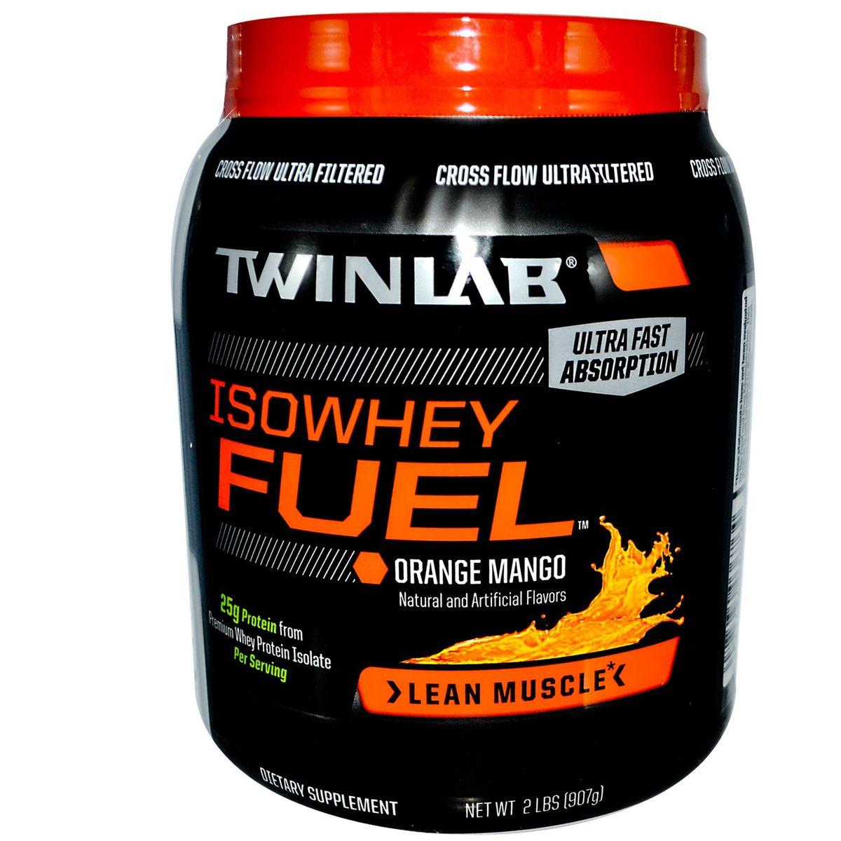 Протеин Twinlab TWL Isowhey Fuel Апельсин-Манго, 908 г