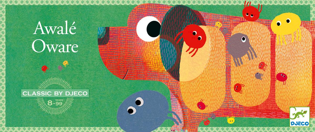 Djeco Настольная игра Овари05206Настольная игра Овари от Джеко – одна из старейших классических игр, которая была создана в Африке и адаптирована французским производителем для детей старше 8-ми лет. В набор входит 2 игровых доски в виде собачек, а также 50 деревянных блошек. Цель игры состоит в том, чтобы, следуя правилам игры, заполнить собачку наибольшим количеством блох. Длина собачки: около 40 см. Собачка изготовлена из плотного многослойного картона, блошки из дерева. Количество игроков: 2 человека. Игра прекрасно развивает смекалку ребенка, внимательность и моторику. Учит его усидчивости. Игра продается в красивой коробке и идеально подходит для подарка. Все детали изготовлены из высококачественных материалов.