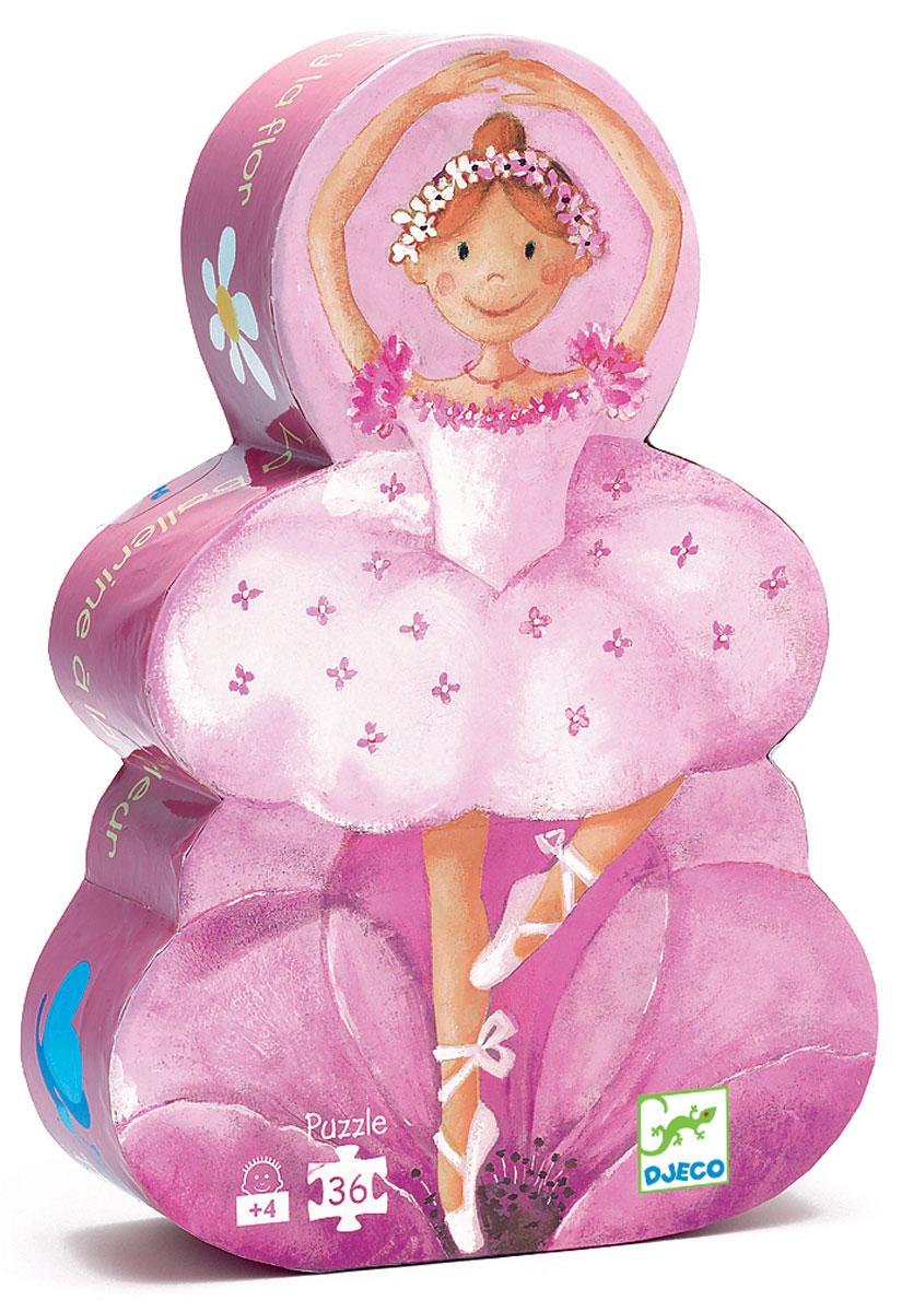 Djeco Пазл для малышей Балерина с цветами07227Пазл для малышей Djeco Балерина с цветами - это изящная девочка-балерина, которая покажет малышу свое мастерство. А теперь ребенок пусть спросит у родителей, почему танцовщица одета именно так, а не иначе. Зачем применяется балетная пачка, пуанты? Почему балерина должна правильно и своевременно кушать, чтобы всегда иметь силы кружиться в танце, радуя всех своим умением? Это поистине увлекательное занятие способствует развитию логического мышления, памяти, тренирует мелкую моторику, внимательность. Таким образом, занимательная игра превращается в полезное, развивающее занятие.