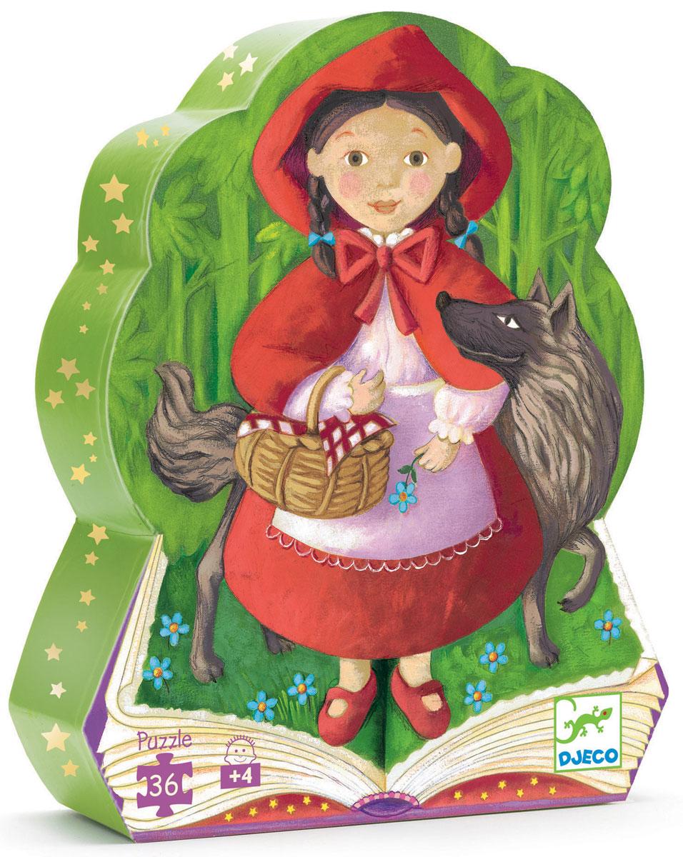 Djeco Пазл для малышей Красная шапочка07230Пазл для малышей Djeco Красная шапочка - красочный мозаичный набор, изображающий три небольшие сцены из любимой многими детьми сказки. Пазл имеет красивое и качественное оформление. Детали выполнены из плотного картона, их легко соединять, они не деформируются. Детям будет приятно и просто их собирать. Пазл упакован в оригинальную фигурную коробку с изображением Красной шапочки и серого волка. Когда пазл будет собран, можно вместе с ребенком повторить прочитанную сказку про Красную шапочку, и увидеть знакомых вымышленных героев. Ребенок будет увлеченно рассматривать картину, изготовленную своими руками.