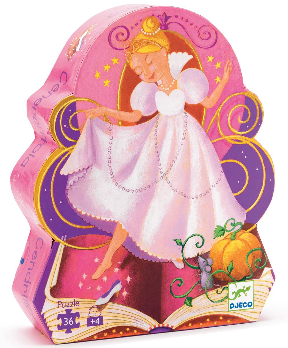 Djeco Пазл для малышей Золушка07232Игра с пазлами развивает внимательность, мелкую моторику рук, воображение, логическое мышление, зрительное восприятие, усидчивость. Яркий пазл для малышей Djeco Золушка из 36 деталей в красивой фигурной коробке станет прекрасным подарком для девочки! Собирая пазл с изображением сюжета из волшебной сказки о Золушке, ваш ребенок узнает, как бедная девочка смогла попасть на королевский бал во дворце, и встретила там своего принца! Детали пазла имеют небольшой размер, удобный для маленьких детских ручек. Собирая пазл, малышка вспомнит историю про бедную девочку-служанку, которая попала на королевский бал и встретила там прекрасного принца. Игра не только доставит детям большое удовольствие, но и принесет немало пользы: детки научатся аккуратности, усидчивости, разовьют логику, мелкую моторику и потренируют память. Элементы пазла выполнены из прочного картона, что делает их устойчивыми к деформациям и удобными для маленьких детских пальчиков.