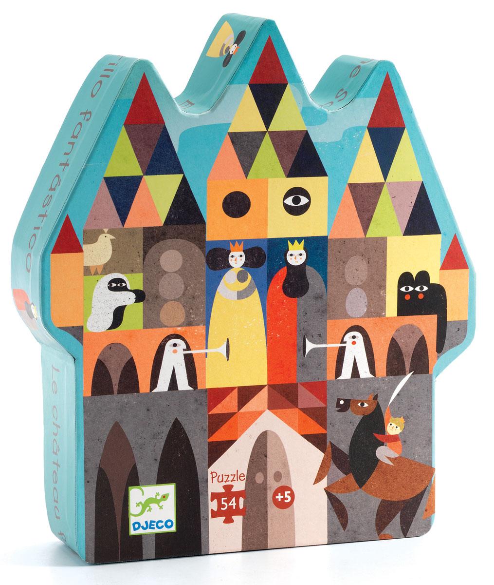 Djeco Пазл для малышей Фантастический замок07253Пазл Фантастический замок станет увлекательным занятием для ребенка и прекрасным украшением детской комнаты. Детали пазла сделаны из плотного картона и прекрасно иллюстрированы. Пазл-головоломка в красочной объемной упаковке станет прекрасным отличным подарком для каждого ребенка. Составление пазлов развивает мелкую моторику детских ручек, образное и логическое мышление, учит малыша внимательности и усидчивости.