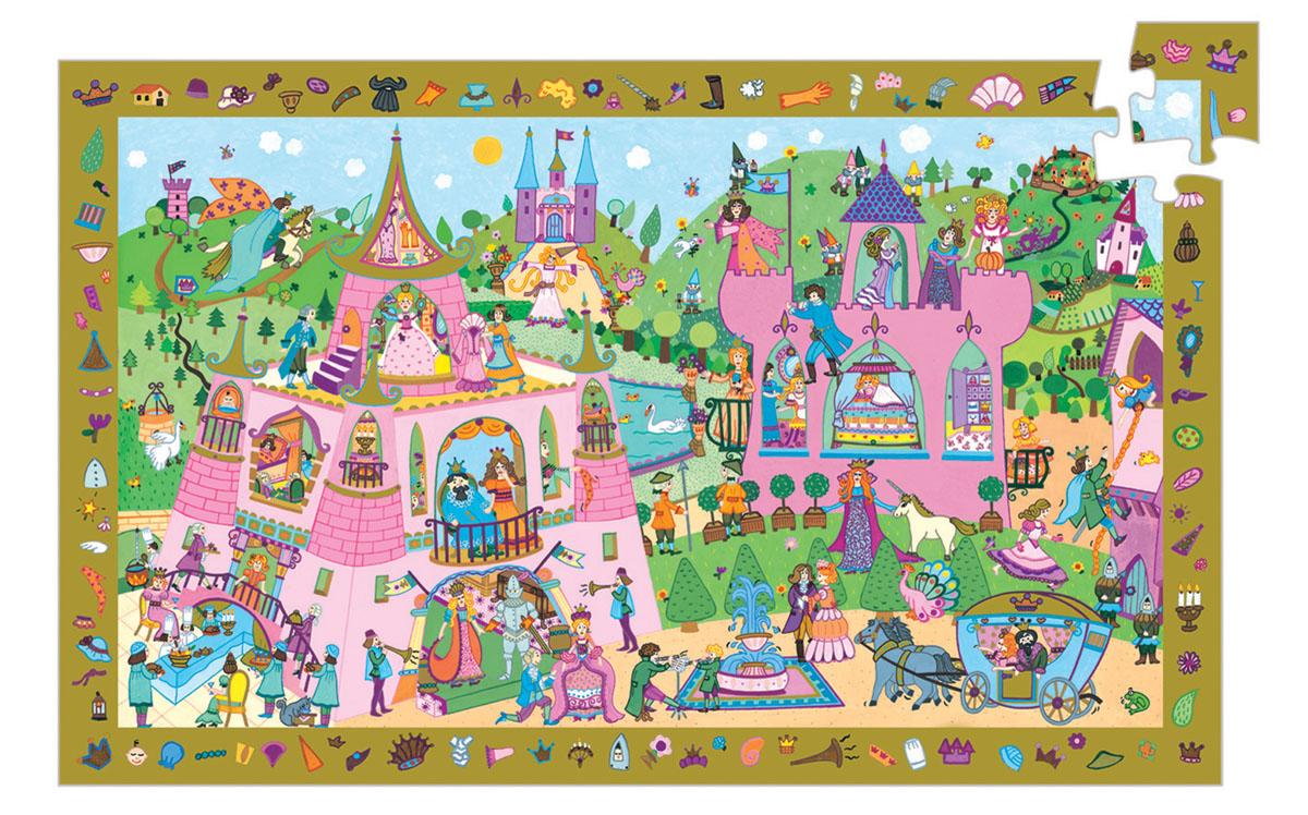 Djeco Пазл для малышей Принцессы07556Пазл для малышей Djeco Принцессы - это очень интересный пазл, включающий 54 элемента. Суть этой игры состоит в следующем: по краю поля изображены мелкие детали, которые также присутствуют внутри пазла. Нужно найти и собрать всю картинку полностью. Это многокадровая развивающая картинка - пазл. Картинки отличаются уровнем сложности. Пазл развивает моторику пальчиков рук, воображение, наблюдательность вашего малыша.