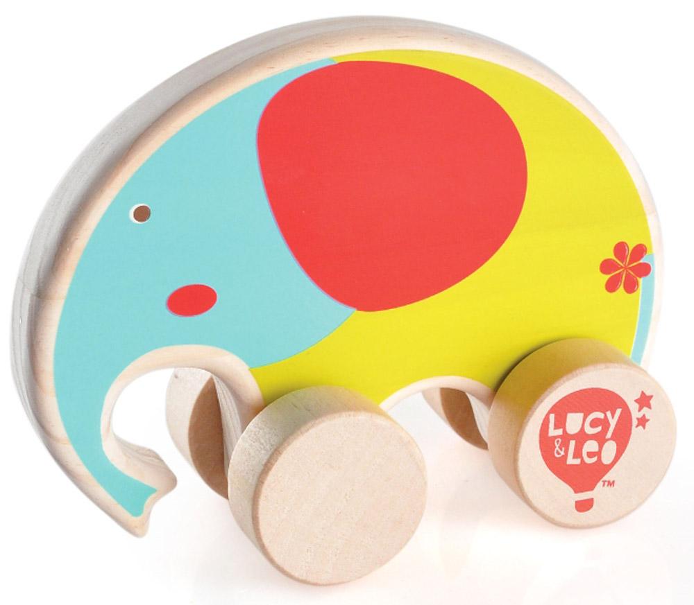 Lucy&Leo Игрушка-каталка СлонLL117Яркая игрушка Слон изготовлена из экологически чистой древесины. Каталки – просто незаменимые игрушки для малышей. Развивает координацию движений, побуждает малыша к действию.Особенности: яркое оформление игрушки тренирует цветовое восприятие и привлекает внимание малыша; вращающиеся колесики легко скользят по гладкой поверхности.