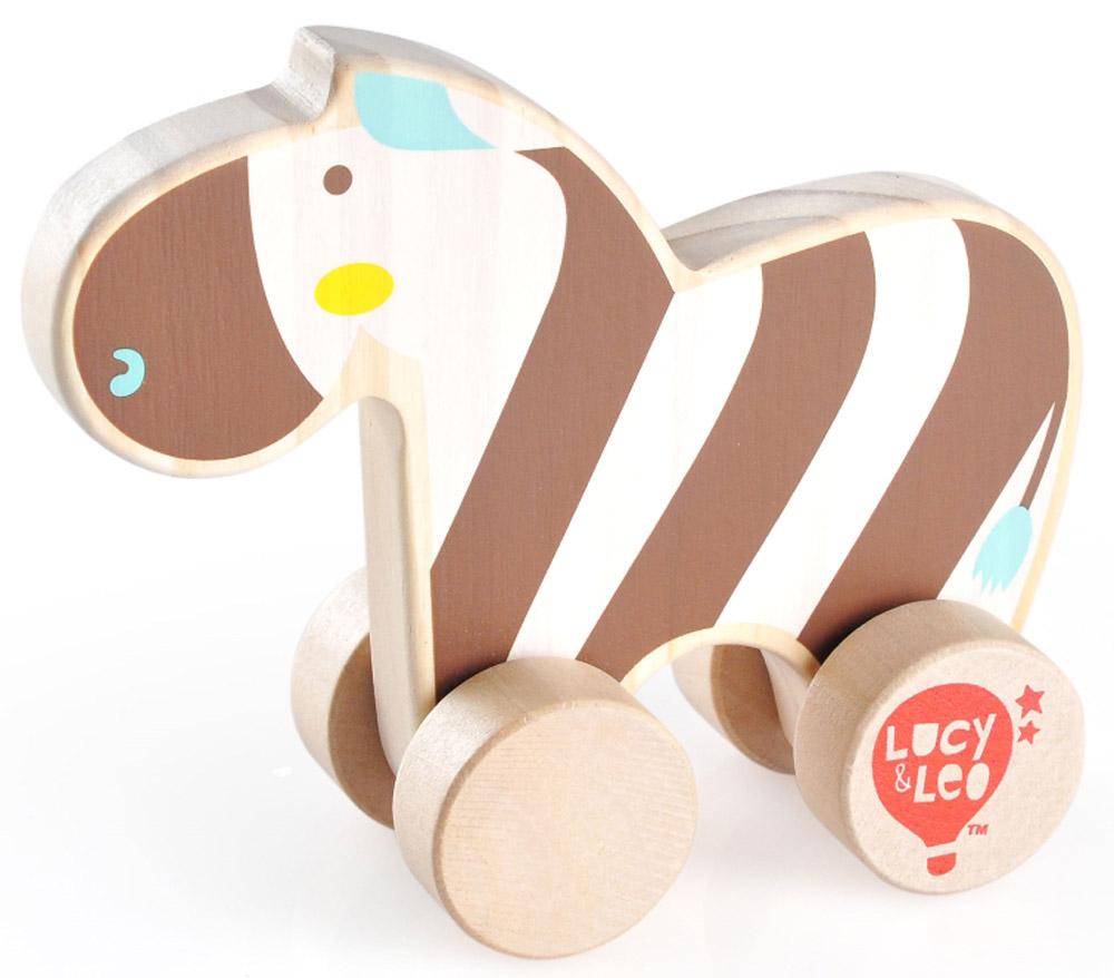 Lucy&Leo Игрушка-каталка ЗебраLL118Яркая игрушка Зебра изготовлена из экологически чистой древесины. Каталки – просто незаменимые игрушки для малышей. Развивает координацию движений, побуждает малыша к действию.Особенности: яркое оформление игрушки тренирует цветовое восприятие и привлекает внимание малыша; вращающиеся колесики легко скользят по гладкой поверхности.