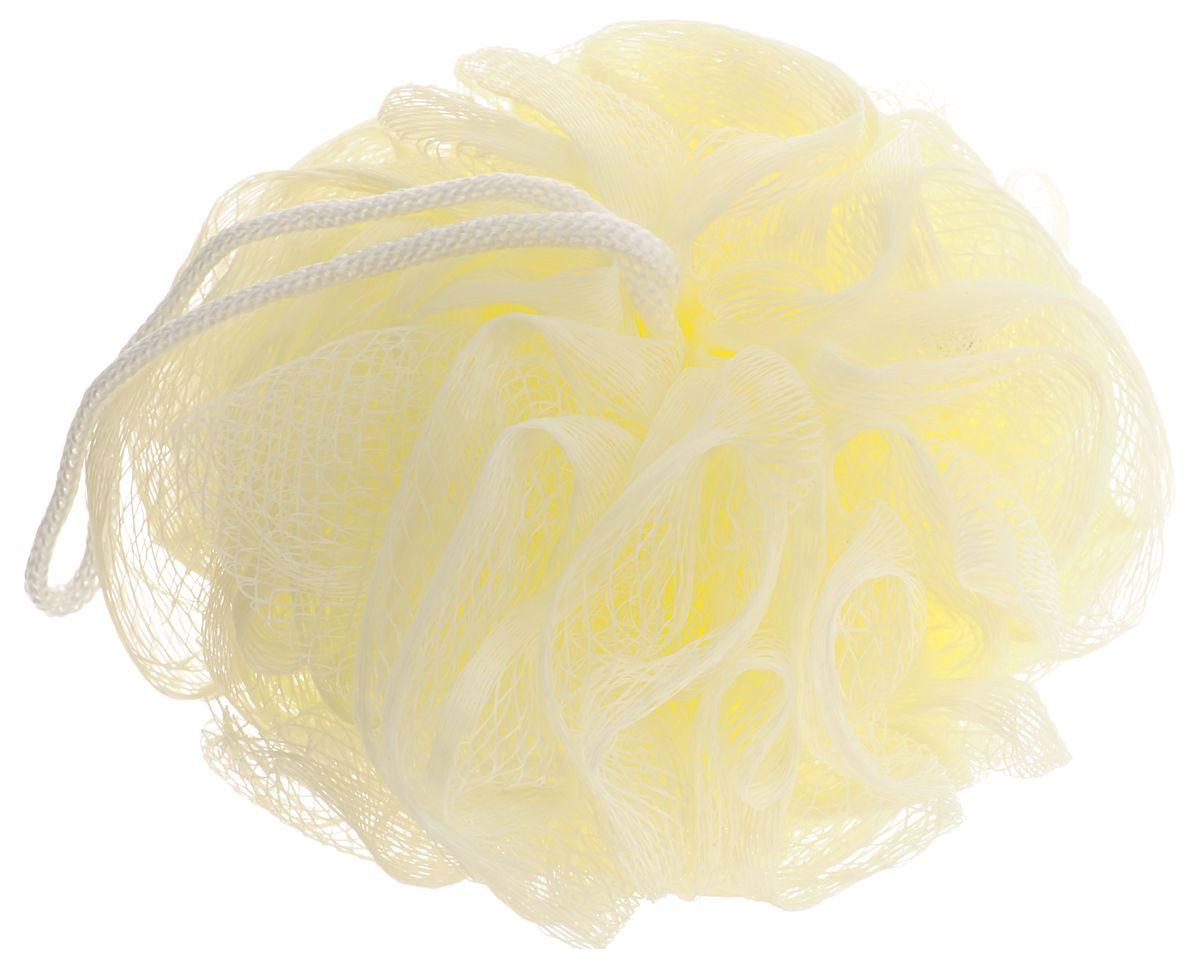Мочалка Eva Бантик, цвет: молочный, диаметр 9 смМС41_молочныйМочалка Eva Бантик, выполненная из нейлона, предназначена для мягкого очищения кожи. Она станет незаменимым аксессуаром ванной комнаты. Мочалка отлично пенится, обладает легким массажным воздействием, идеально подходит для нежной и чувствительной кожи. На мочалке имеется удобная петля для подвешивания. Диаметр: 9 см.