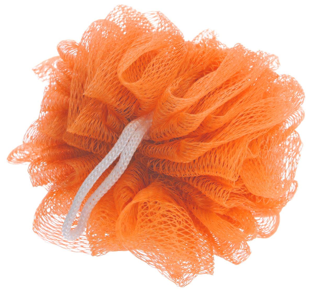 Мочалка Eva Бантик, цвет: оранжевый, диаметр 9 смМС41_оранжевыйМочалка Eva Бантик, выполненная из нейлона, предназначена для мягкого очищения кожи. Она станет незаменимым аксессуаром ванной комнаты. Мочалка отлично пенится, обладает легким массажным воздействием, идеально подходит для нежной и чувствительной кожи. На мочалке имеется удобная петля для подвешивания. Диаметр: 9 см.