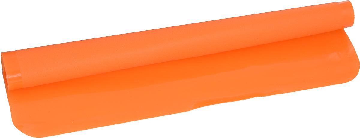 Коврик силиконовый Mayer & Boch, цвет: оранжевый, 38 х 28 см21994_оранжевыйСиликоновый коврик Mayer & Boch предназначен для приготовления выпечки. Он быстро нагревается, равномерно пропекает, не допускает подгорания выпечки с краев или снизу. Нет необходимости смазывать коврик маслом. Вынимать продукты из изделия очень легко. Коврик не ржавеет и на нем не образуются пятна. Нет необходимости изменять температуру приготовления. Можно использовать в микроволновой печи, духовом шкафу, морозильной камере и в холодильнике. Можно мыть в посудомоечной машине.