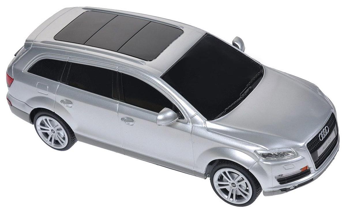 Rastar Радиоуправляемая модель Audi Q7 цвет серебристый масштаб 1:2427300_серебристый