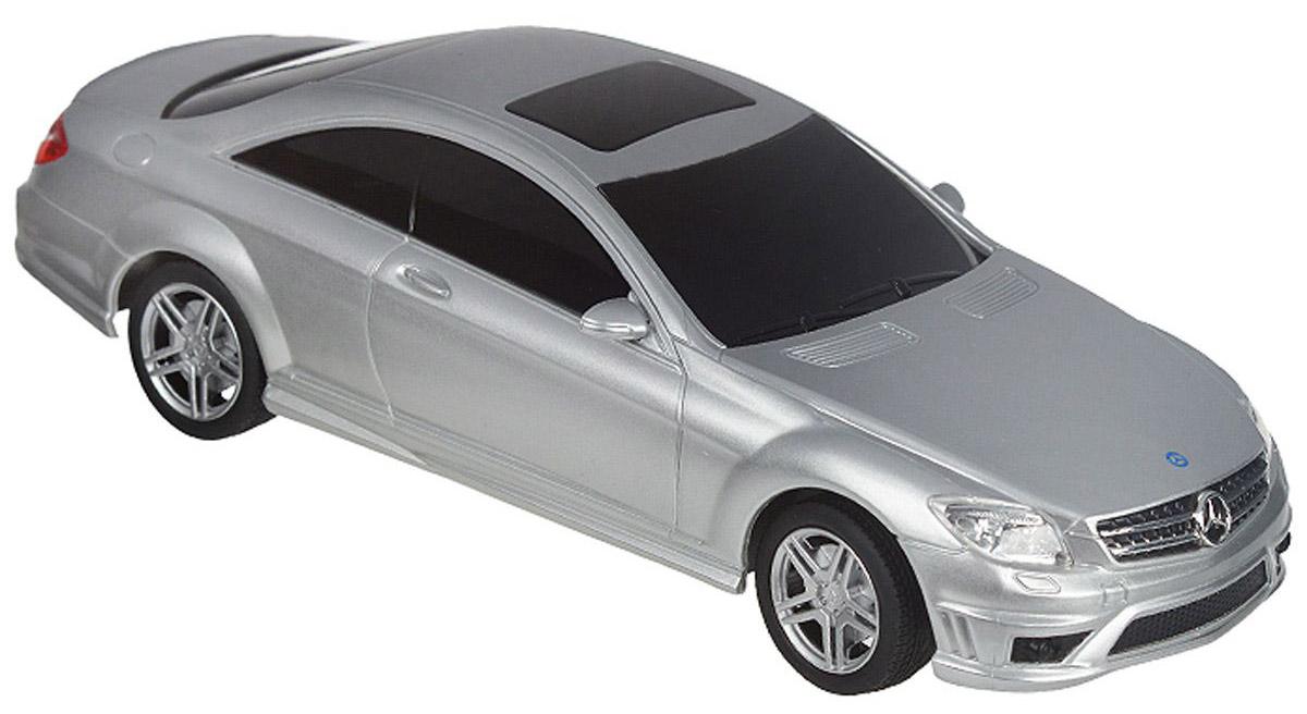 Rastar Радиоуправляемая модель Mercedes CL 63 AMG цвет серебристый34200Rastar Mercedes-Benz CL63 AMG масштаба 1:24 - это коллекционная модель, которая является точной копией настоящего автомобиля. Она изготовлена из металла с элементами пластика. Машина предназначена для детей от 6-ти лет. Ее размер составляет 210 x 80 x 55 мм. Во время игры у ребенка развивается мелкая моторика рук, воображение и фантазия.