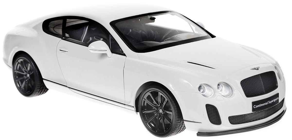 Welly Радиоуправляемая модель Bentley Continental Supersports масштаб 1:1282007Welly 82007 Велли Радиоуправляемая модель машины 1:12 Bentley Continental Supersports Функции: Движение вперед- назад, вправо--влево. При движении загорается свет передних и задних фар. С пульта управления открываются двери. Кузов машины из ударопрочного пластика. Радиус действия пульта управления до 30 м. Питание 6 АА батареек в машину, 4 АА батарейки в машину. В комплект не входят.
