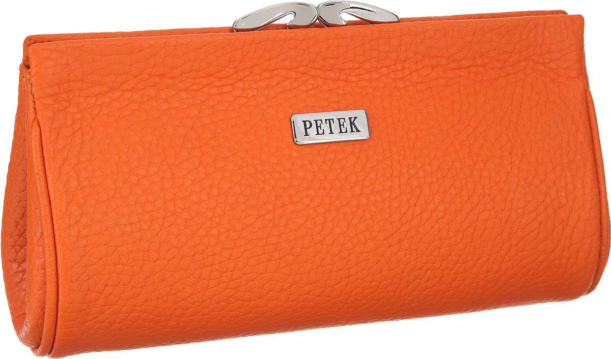 Косметичка Petek 1855, цвет: оранжевый. 409.46D. 24