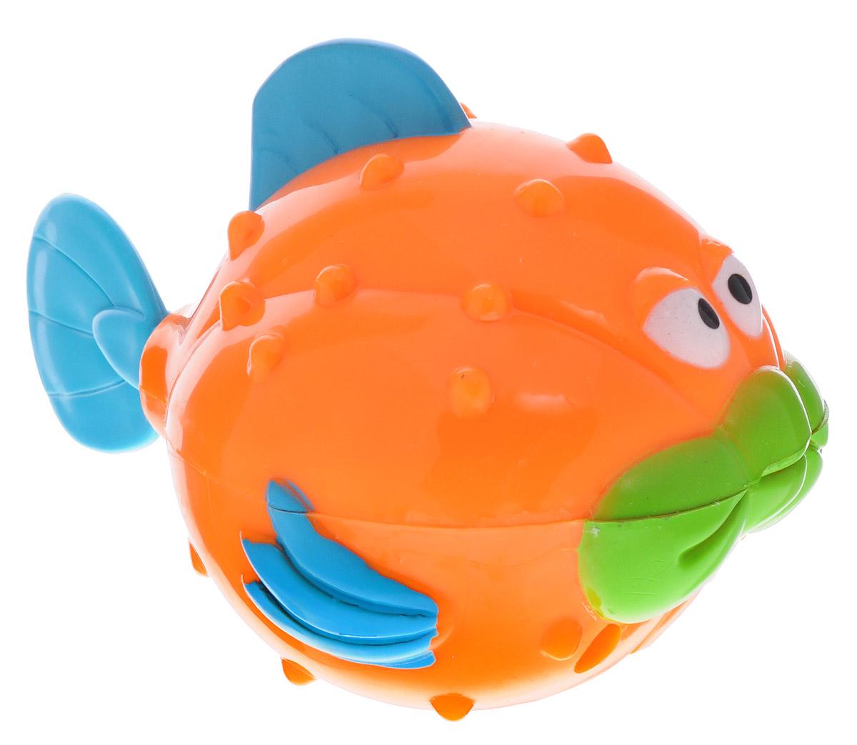 Alex Toys Игрушка для ванной Рыба-ёж850WИгрушка для ванной Alex Toys Рыба-ёж приведет в восторг вашего малыша во время купания. Игрушка выполнена в виде забавной рыбы-ежа. С такой игрушкой ваш ребенок сможет придумать бессчетное количество веселых игр и историй. Рыба заводится ключиком, который спрятан у нее под брюхом. Игрушка способствует развитию внимательности, мелкой моторики рук, воображения, зрительного восприятия.