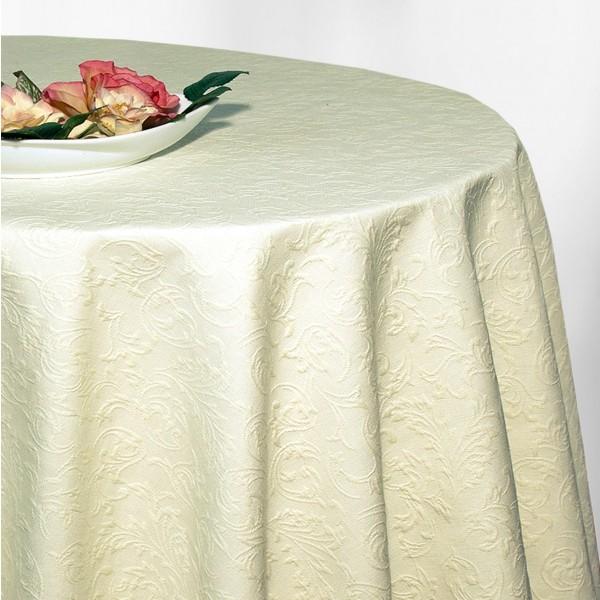 Скатерть Schaefer, овальная, цвет: шампань, 170 x 225 см. 4127/Fb4127/Fb.00_шампаньВеликолепная скатерть Schaefer, выполненная из полиэстера и хлопка, органично впишется в интерьер любого помещения, а оригинальный дизайн удовлетворит даже самый изысканный вкус. Обладает жиро- и водоотталкивающими свойствами. Красивый рельефный узор придает скатерти изысканный внешний вид. Это текстильное изделие станет удобным и оригинальным украшением вашего дома!