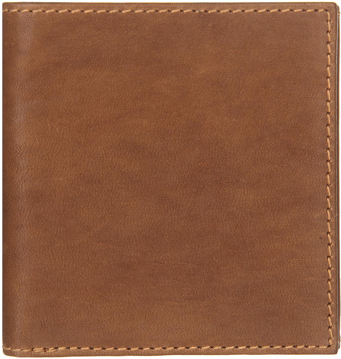 Портмоне мужское Bodenschatz, цвет: коньяк. 8-878/068-878/06Компактное мужское портмоне Bodenschatz выполнено из натуральной кожи, оформлено металлической фурнитурой с символикой бренда. Портмоне раскладывается пополам. Внутри расположены: отделение для купюр, шесть карманов для кредитных карт, два потайных кармашка. На лицевой стороне портмоне расположено отделение для монет, закрывающееся клапаном на кнопку, и потайной карман. Изделие поставляется в фирменной упаковке. Практичное портмоне непременно подойдет к вашему образу и порадует простотой, стилем и функциональностью.