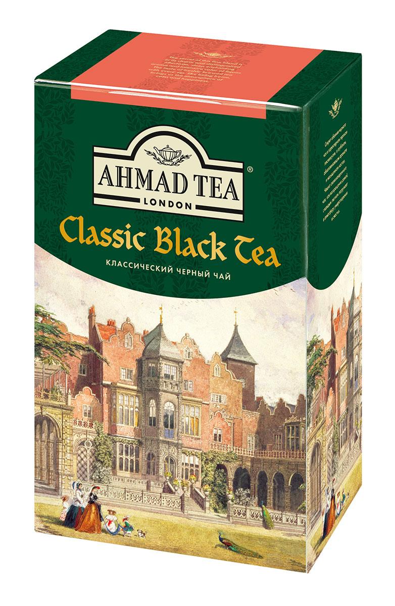 Ahmad Tea Классический черный чай, 100 г1567-1Секрет обаяния классического черного чая Ahmad Tea - в характерном терпком послевкусии, в глубоком, обволакивающем аромате и насыщенном настое. Чашка свежезаваренного чая - как возвращение домой, с каждым глотком погружает в атмосферу умиротворения и счастья. Заваривать 3 - 5 минут, температура воды 100°С.