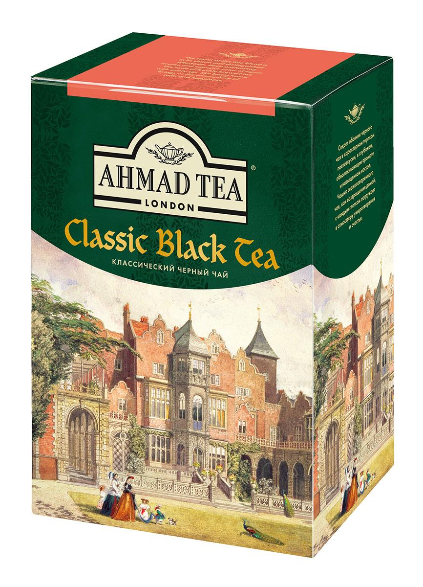 Ahmad Tea Классический черный чай, 200 г1568Секрет обаяния классического черного чая Ahmad Tea - в характерном терпком послевкусии, в глубоком, обволакивающем аромате и насыщенном настое. Чашка свежезаваренного чая - как возвращение домой, с каждым глотком погружает в атмосферу умиротворения и счастья. Заваривать 3 - 5 минут, температура воды 100°С.