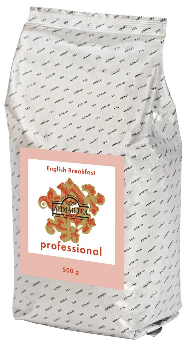 Ahmad Tea Professional Английский завтрак черный листовой чай, 500 г 1591